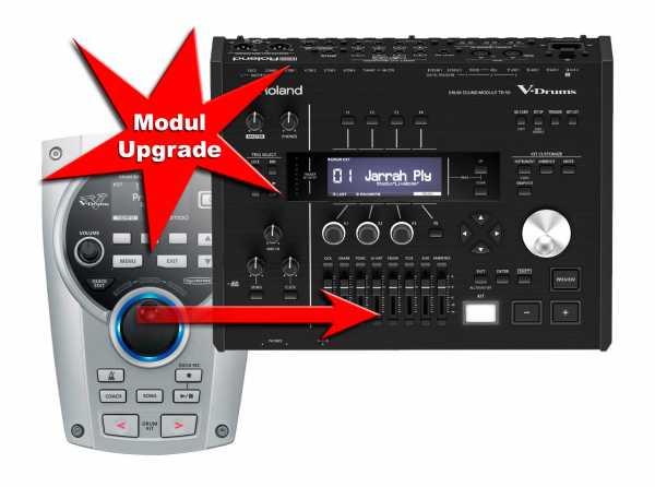 Modul Upgrade Roland TD-15 zu Roland TD-50