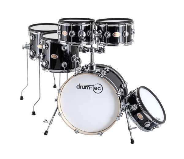 drum-tec Jam NG Shell Set 6-teilig (black)