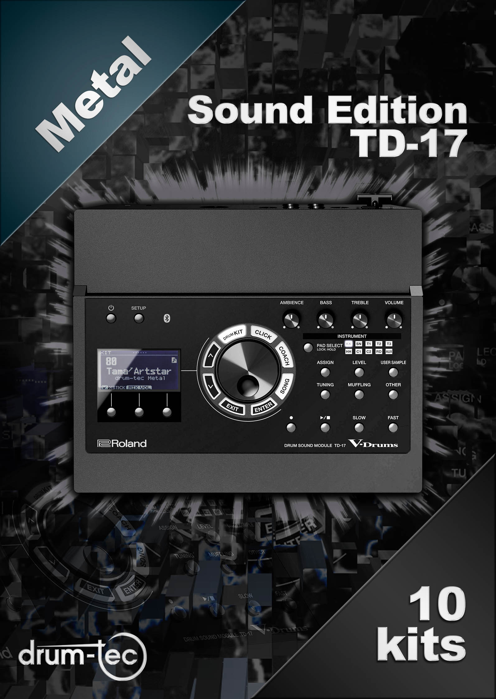 Metal Sound Edition Roland TD-17 [Download]