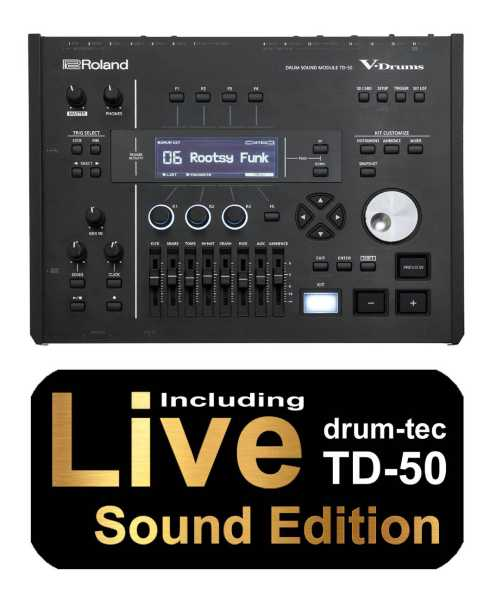 Roland TD-50 V-Drums Soundmodul