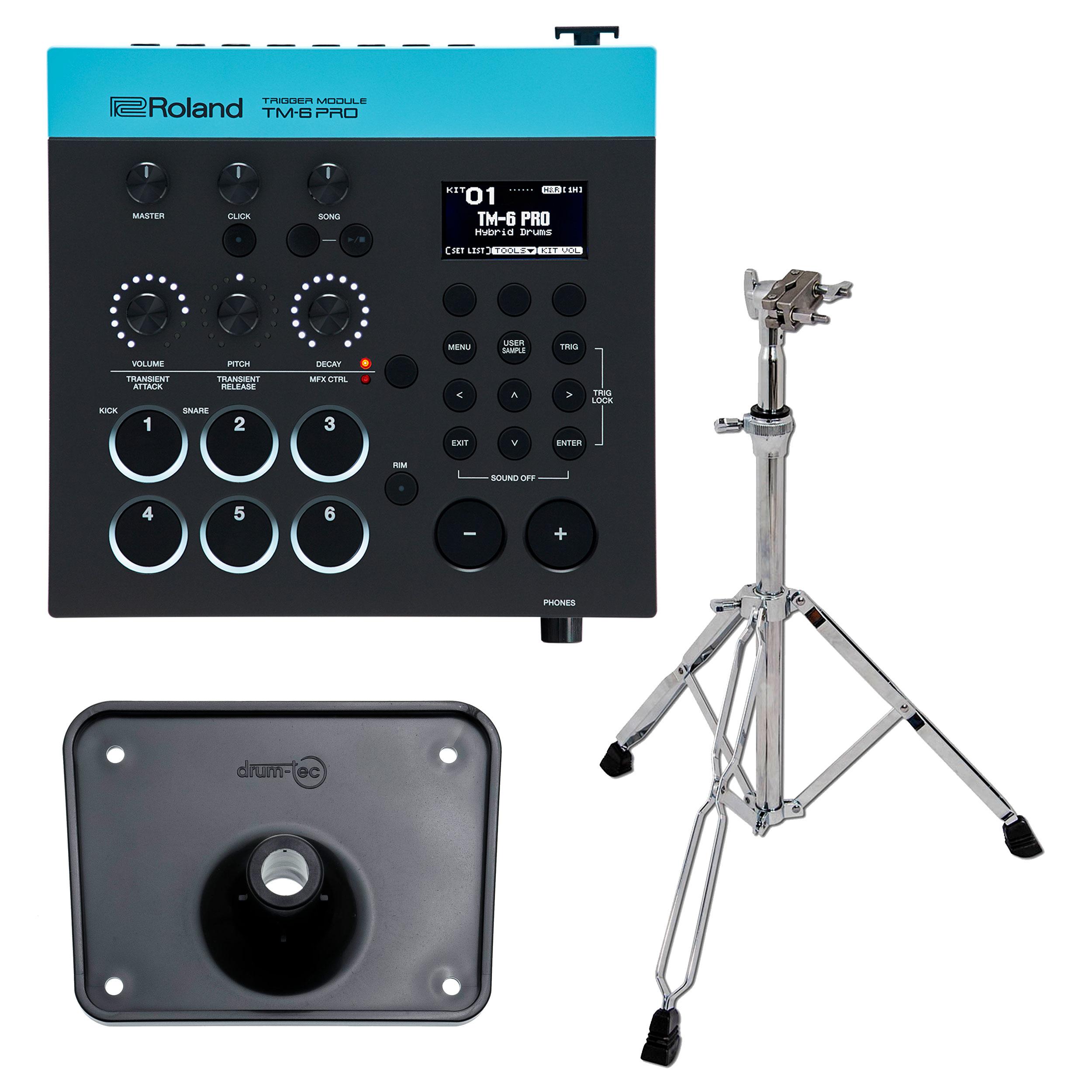 Roland TM6PRO Trigger Module with RT-30K Acoustic Drum Trigger Bundle