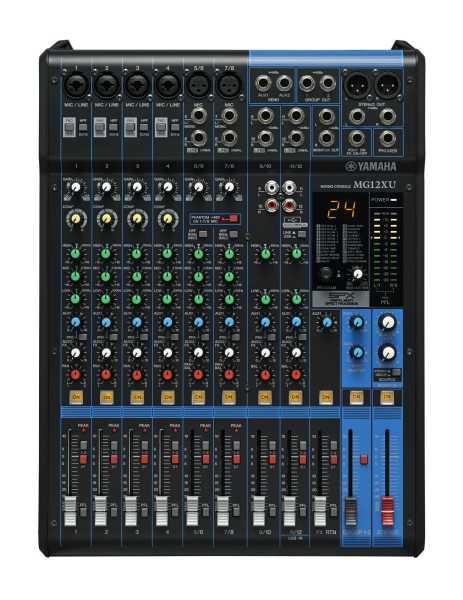 Yamaha MG12XU 12 Kanal Mixer mit Effekten