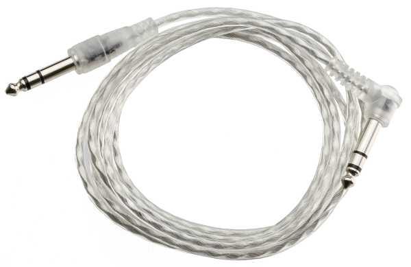 TC-300 Transparentes Stereo Triggerkabel Pro