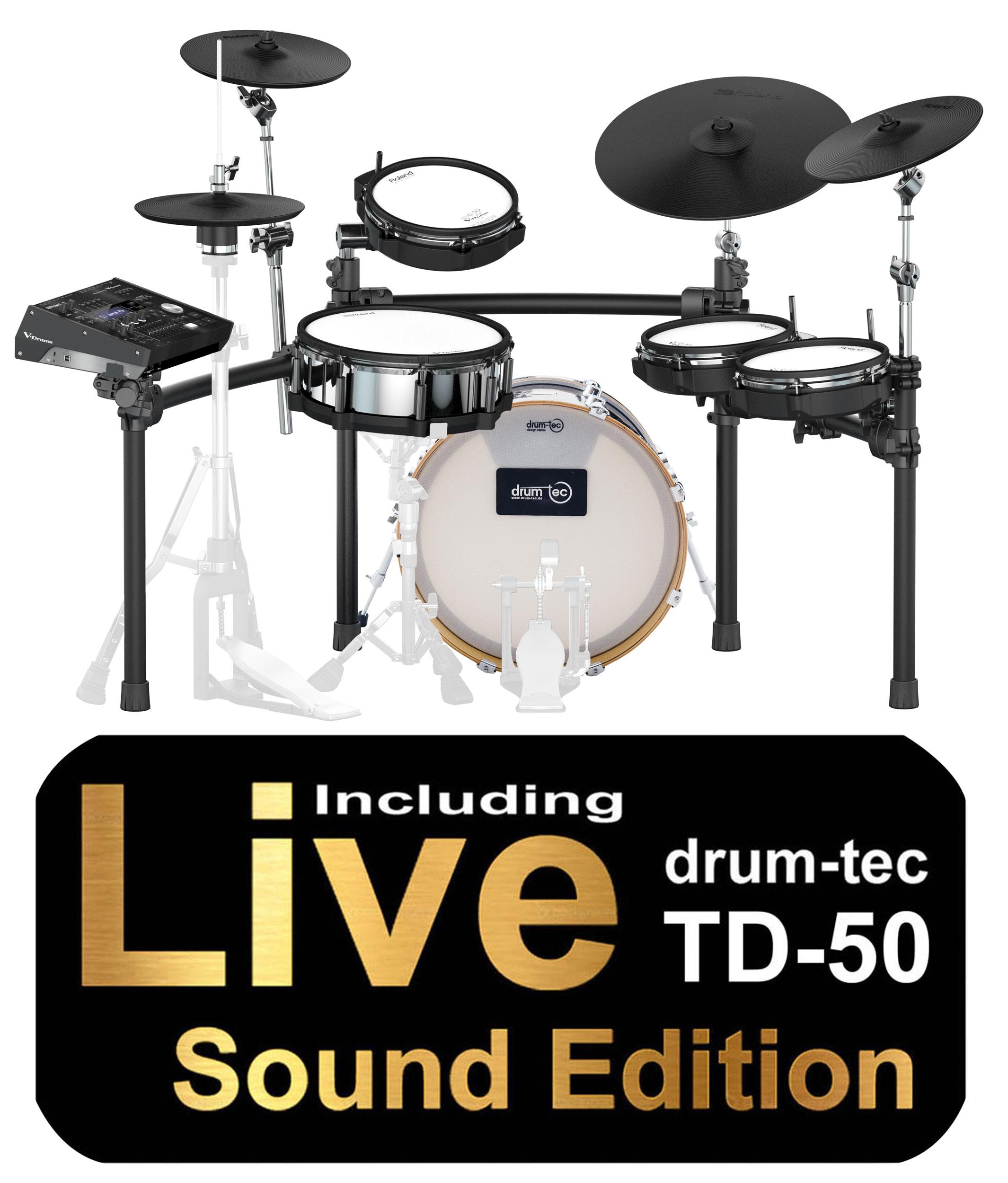 Roland TD-50KX drum-tec Edition with Sound Edition & MDS-50K