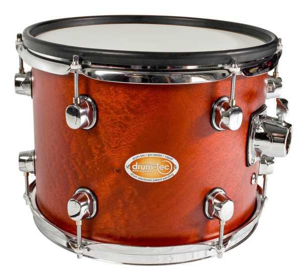 "drum-tec pro Tom 12"" x 9"" (noble wood - sapeli)"