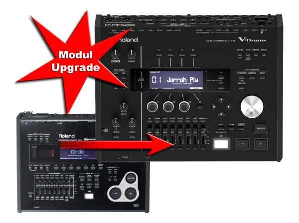 Modul Upgrade Roland TD-30 zu Roland TD-50