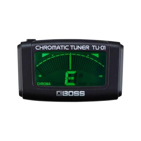 BOSS TU-01 Chromatischer Clip-Tuner