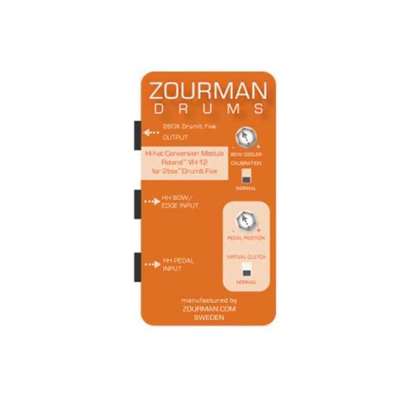 Zourman 2Box Hihat conversion VH-11 Virtual Clutch
