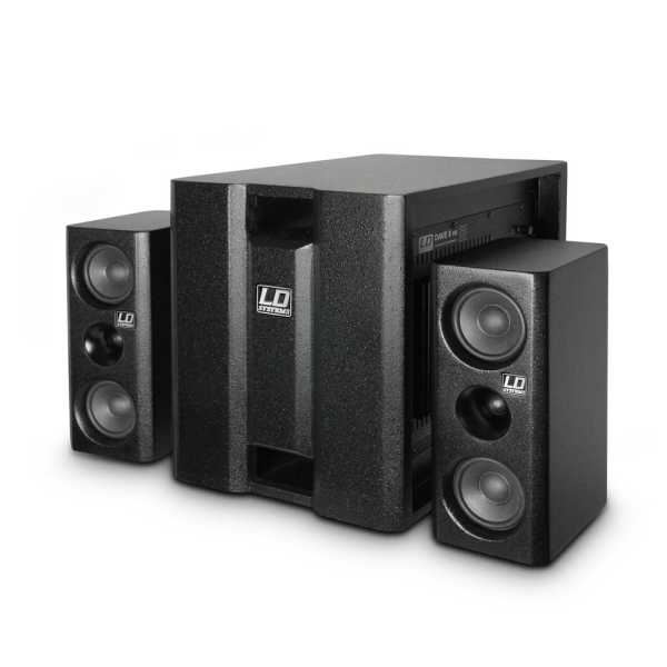 LD Systems DAVE 8 XS - Aktiver 2.1 E-Drum Monitor