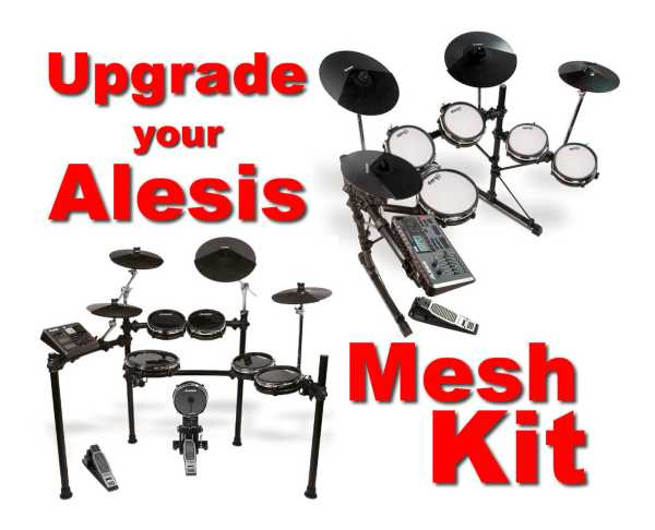 drum-tec Mesh Upgrade für Alesis DM10 Studio
