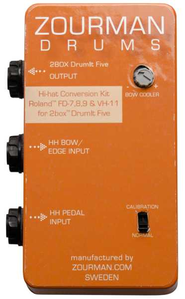 Zourman 2Box HiHat conversion Roland FD-8/VH-11