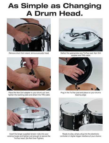 """Pearl Tru Trac 12""""  TTP12 Drum Head"""