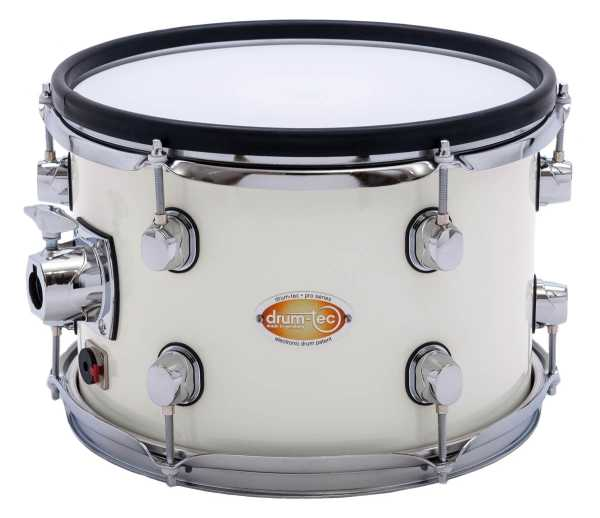 "drum-tec pro Tom 12"" x 8"" (white)"