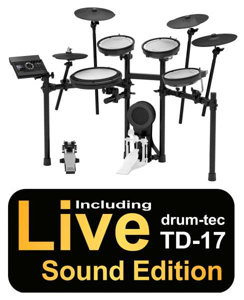 Roland TD-17KV drum-tec Edition BIG RIDE