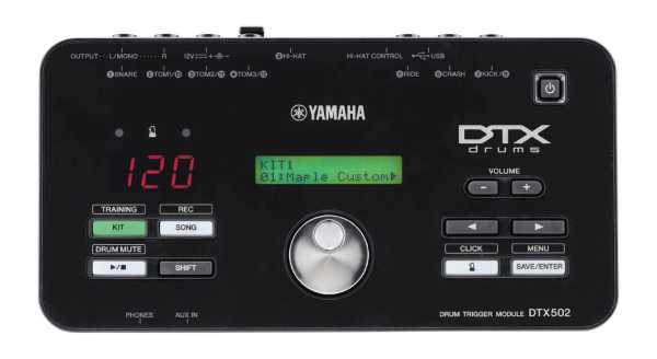 Yamaha DTX502 Soundmodul