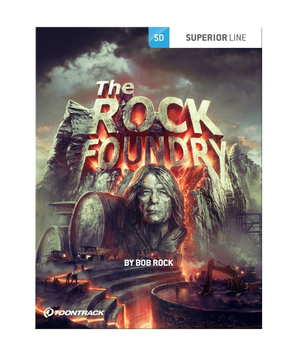 The Rock Foundry SDX 65 GB Drums Sounds Preset Drums Kits  Fast Delivery