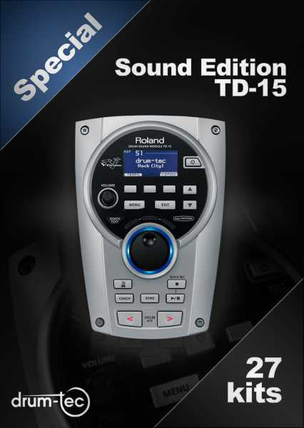 Special Sound Edition Roland TD-15