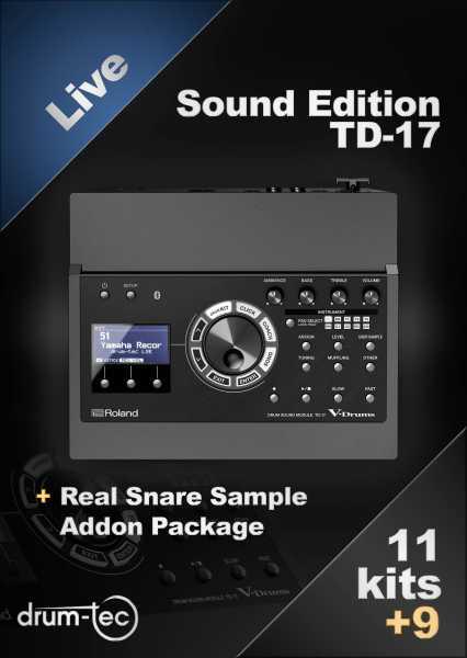 Roland / ATV Full Sized Set mit TD-17