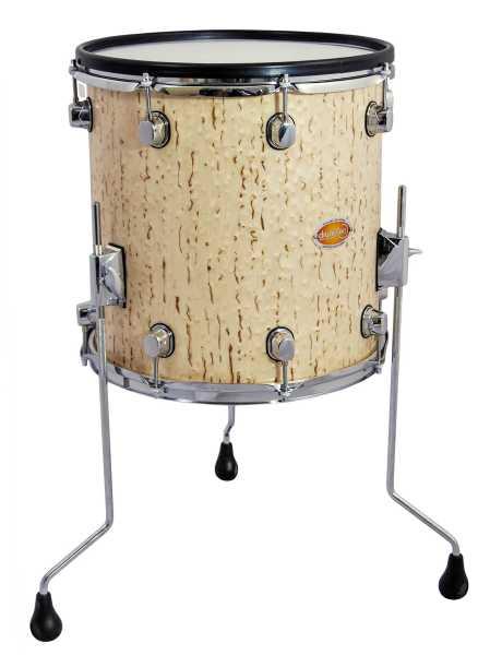 """drum-tec pro-s Floor Tom 14"""" x 14"""" (ice birch)"""