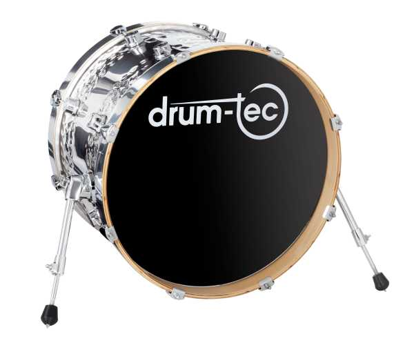 "drum-tec diabolo 18"" Real Feel Mesh Head Kick"