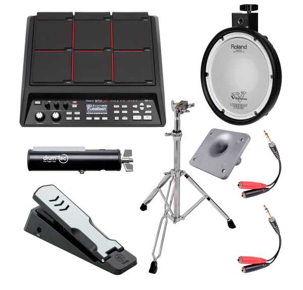 Roland SPD-SX Mini Drum Bundle
