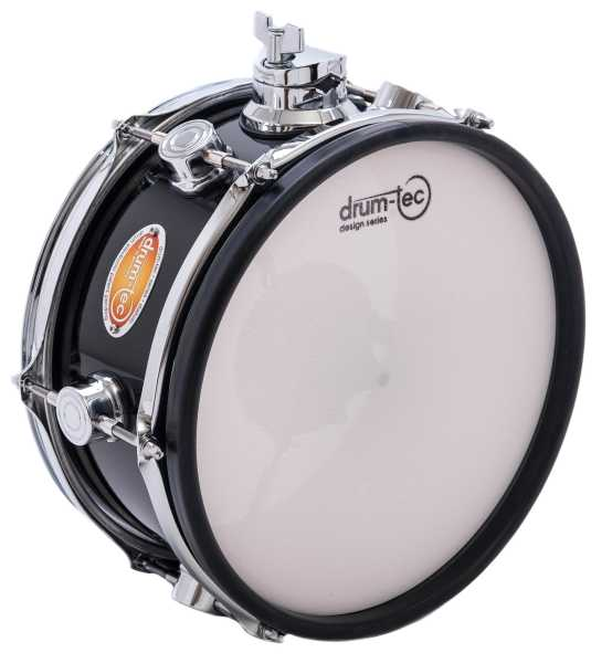 "drum-tec diabolo mesh head pad 10"" x 5"" (black)"