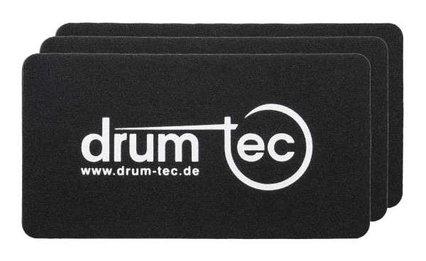 drum-tec Protection Dot Bass Drum Patch 3er Pack