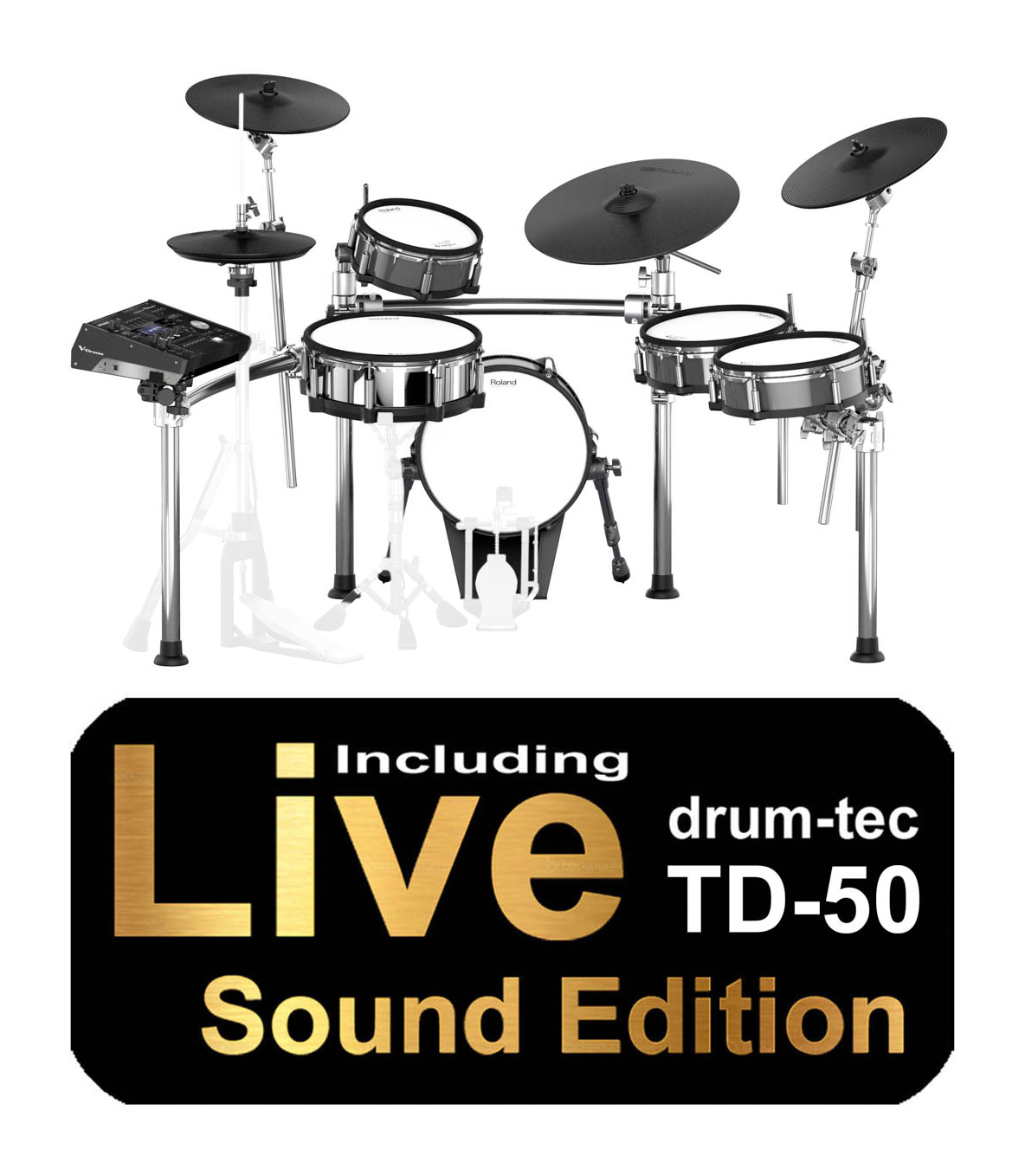 3f38a1aeb12f Roland TD-50KV - the latest V-Drums flagship with Sound Edition ...